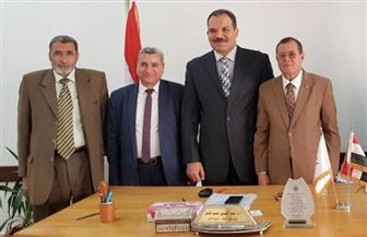 عميد إعلام الأزهر يستقبل مستشار أكاديمية ناصر العسكرية العليا