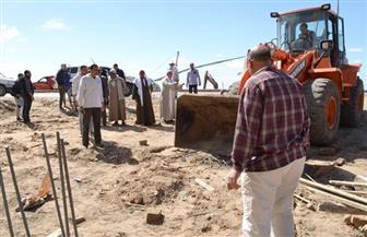 مصادرة 7 معدات وفرض 170 ألف جنيه غرامة للتعدي على أراض زراعية بالرياض | صور