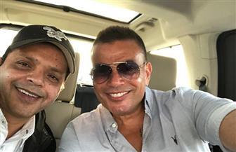هنيدي يستغل عمرو دياب كمدرب له فى مباراته المقبلة
