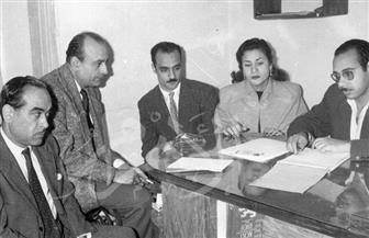 محمود المليجي ولحظات خاصة موثقة بالصور من عام 1947