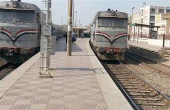 السكة الحديد: دراجة بخارية تقتحم مزلقان بشتيل على إيتاى البارود القاهرة