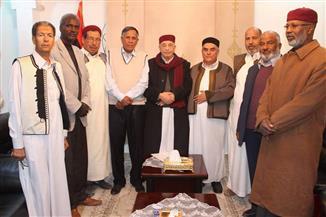 رئيس مجلس النواب الليبي يلتقي عشائر ومشايخ برقة