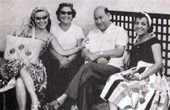 حسن فايق صاحب أشهر ضحكه في صور نادرة مع أسرته  تعود لعام 1944