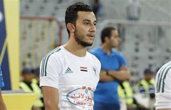 استقبال طيب من جماهير المصري لأحمد أيمن منصور عقب العودة من الإصابة