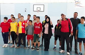 فريق بلطيم لكرة القدم الخماسية بالترببة والتعليم يفوز ببطولة الموهوبين| صور