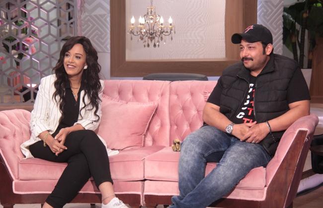 الكوميديان محمد ثروت يكشف أسرار خطاب زوجته الشهير في معكم منى الشاذلي   صور -
