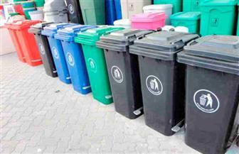 تركيب 28 سلة مهملات بشارع الجمهورية في عابدين لرفع الوعي بأهمية النظافة