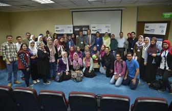 فوز 4 متسابقين لأول مرة في تاريخ مختبر الشهرة بالجولة النهائية في جامعة عين شمس   صور
