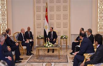 """الرئيس السيسي يستقبل رئيس مجلس إدارة شركة """"جنرال إلكتريك"""" العالمية"""