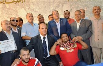 انطلاق بطولة الجمهورية لمصارعة الذراعين بسوهاج  21  مارس الجاري   صور