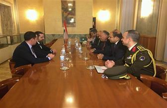 سامح شكري يلتقي بسعد الحريري على هامش مؤتمر روما الثاني لدعم الجيش اللبناني