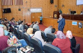 بدء أسبوع العلوم المصري بجامعة سوهاج   صور