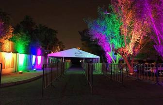 سفارة مصر بالكويت تتزين استعدادا للتصويت بانتخابات الرئاسة | صور