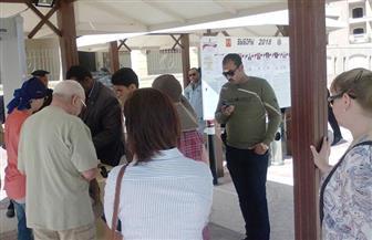 خبراء مفاعل الضبعة يدلون بأصواتهم في انتخابات الرئاسة الروسية