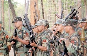 جيش ميانمار يدفع قرويين إلى النزوح
