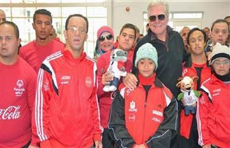 حسين فهمي يشارك في افتتاح الألعاب الإقليمية التاسعة للأوليمبياد الخاص