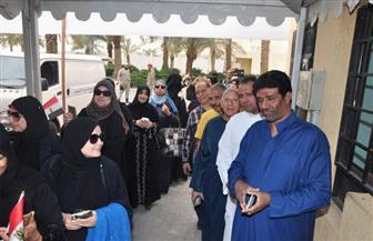 شاهد احتفالات المصريين بالسعودية خلال التصويت في الانتخابات الرئاسية   فيديو