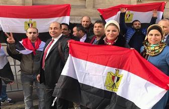 رئيس تحرير راديو ألمانيا تشيد بالعملية الانتخابية بسفارة مصر في برلين| صور