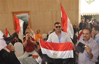 المصريون بالسعودية يتوافدون على سفارة مصر للتصويت بالانتخابات الرئاسية في اليوم الثاني
