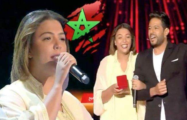 The voice.. حماقي يختار شيماء المغربية وأليسا تخطف منه هالة -