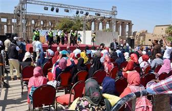 """استمرار احتفالات ختام مهرجان """"الأقصر عاصمة الثقافة العربية"""" لليوم الثالث على التوالي"""