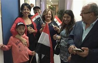 المصريون يتوافدون على سفارة مصر بأستراليا قبل ساعة من غلق باب الاقتراع بالانتخابات الرئاسية | صور