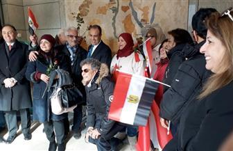 المصريون في ألمانيا يواصلون التصويت بانتخابات الرئاسة لليوم الثاني   صور