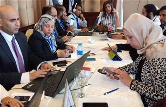 وزيرة الهجرة توجه بسرعة التواصل مع المصريين بتبوك والدمام بالسعودية لتوفير حافلات نقل لهم | صور