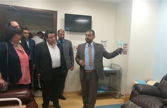 إيناس عبد الدايم: عروض فنية وثقافية لمرضى مستشفى الأورام بالأقصر | صور