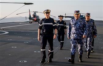ختام فعاليات التدريب البحري المصري الفرنسي المشترك بنطاق البحر الأحمر | صور
