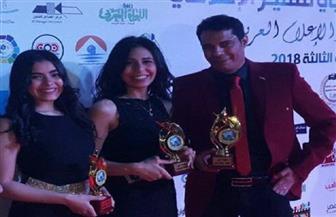 رئيس المهرجان العربى للتميز الإعلامى يكرم الشاعر دسوقي فتحي | صور