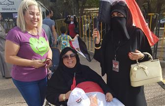 ذوو الإعاقة يشاركون في الانتخابات الرئاسية بالكويت | صور