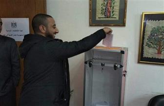 إقبال كثيف من المبتعثين للمشاركة في الانتخابات الرئاسية بالخارج | صور