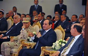 تفاصيل زيارة الرئيس السيسى لمنطقة شرق بورسعيد لتفقد مشروعات قومية | صور