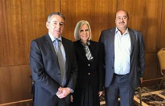 الأمين العام المساعد لجامعة الدول العربية يتابع عمليات التصويت بسفارة مصر بالأردن