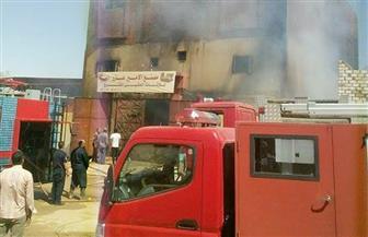 السيطرة على حريق في مصنع أخشاب بالمدينة الصناعية بأسوان