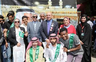 الملحقية الثقافية تجهز جناحا خاصا لطلابها السعوديين بالقاهرة؛للمشاركة بالمهرجان الثامن ليوم الشعوب بكلية الطب