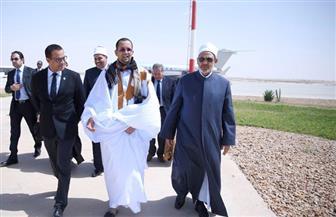 وزير الشئون الإسلامية الموريتاني يقيم حفل عشاء في قصر الضيافة على شرف شيخ الأزهر