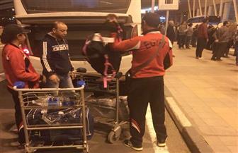 عودة بعثة البارالمبية بعد المشاركة فى بطولة فزاع الدولية
