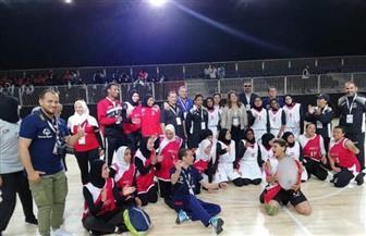بنات مصر للسلة يفزن على فتيات الإمارات 22-16 بالألعاب الإقليمية