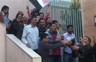 توافد المصريين بكثافة على مقر السفارة ببيروت للتصويت في اليوم الأخير للانتخابات |صور