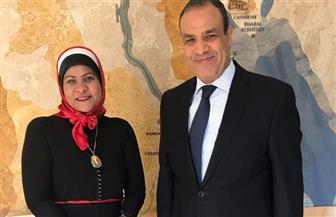 عطلة نهاية الأسبوع ترفع أعدد المصريين المصوتين بسفارتنا في برلين | فيديو