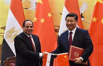 """الرئيس السيسى يهنئ """"شي جين بينج"""" بمناسبة إعادة انتخابه رئيسا للصين لفترة جديدة"""