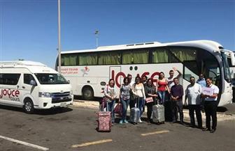 الغردقة تستقبل أول رحلة طيران مباشر من كازاخستان | صور