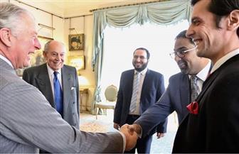 الأمير تشارلز يستقبل طلاب جامعة الأزهر في منزله