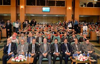 """افتتاح مؤتمر """"القانون والتطورات التكنولوجية"""" بحقوق المنصورة"""