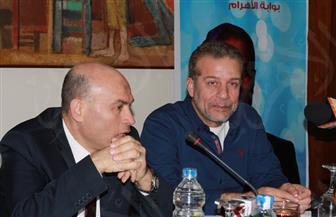 """شريف منير خلال ندوة """"بوابة الأهرام"""": أشرف عبدالباقي أعاد الجمهور للمسرح في وقت عصيب"""