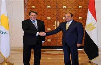 الرئيس السيسي يتلقى اتصالا هاتفيا من نظيره القبرصى لبحث سبل دعم العلاقات بين البلدين