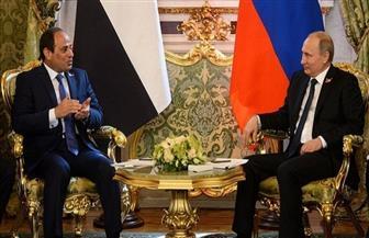 الرئيس السيسي يهنئ بوتين بإعادة انتخابه لفترة رئاسية جديدة
