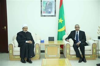الإمام الأكبر ورئيس موريتانيا يتفقان على إقامة مركز الإمام الأشعري بنواكشوط